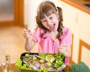 Peki çocuklar için porsiyon olarak ne kadar balık yeterli gelir ?